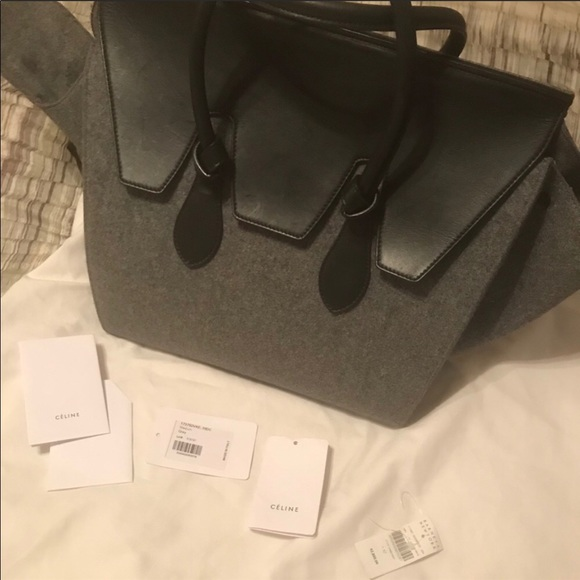 8f3b83199306 Celine Handbags - 🌟 SALE 🌟 Celine Tie Tote Felt large bag